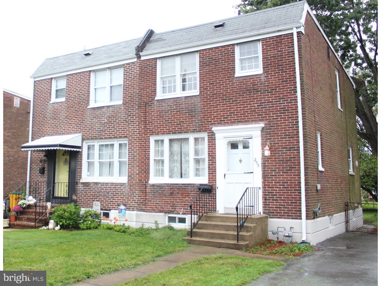 Tek Ailelik Ev için Satış at 253 LOCUST Avenue Elsmere, Delaware 19805 Amerika Birleşik Devletleri