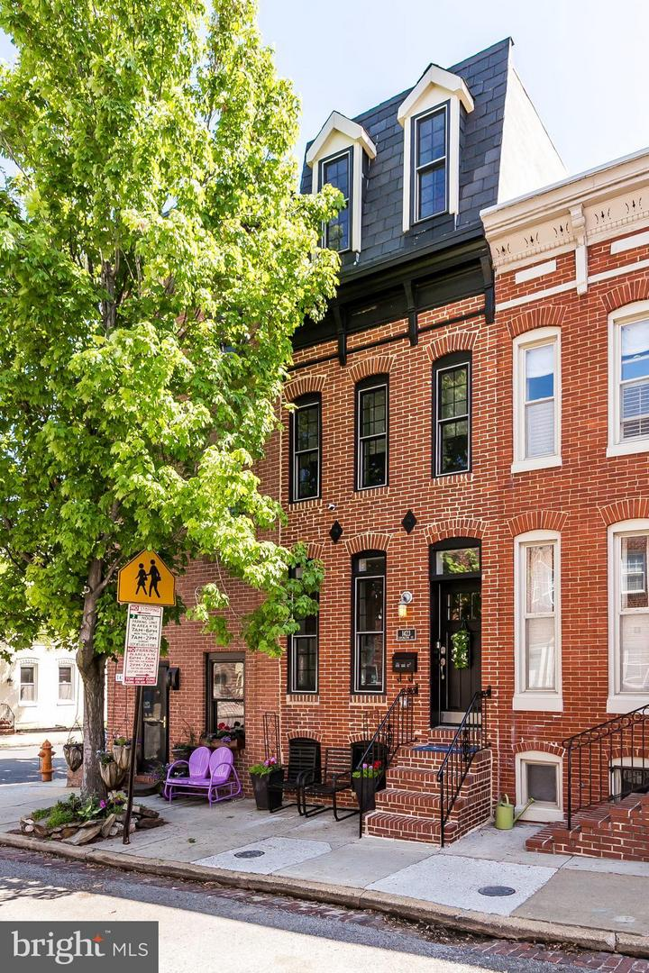 Single Family for Sale at 1423 Covington St Baltimore, Maryland 21230 United States