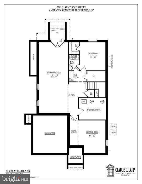 Lower Level Floor Plans - 2221 KENTUCKY ST N, ARLINGTON