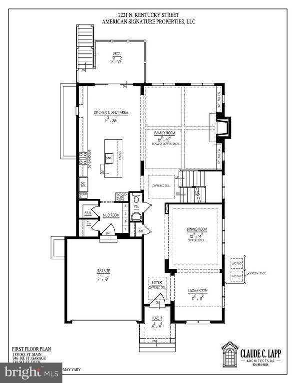 First Level Floor Plans - 2221 KENTUCKY ST N, ARLINGTON