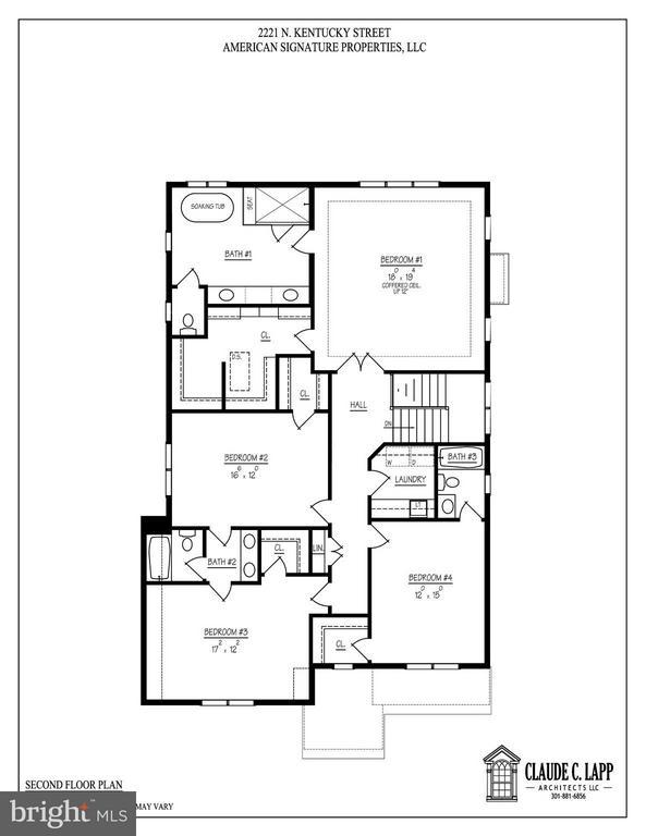 Second Level Floor Plans - 2221 KENTUCKY ST N, ARLINGTON