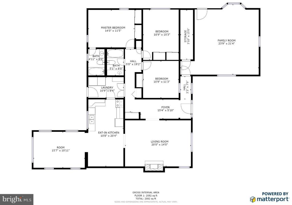 Floor Plan - 702 PAYTON DR, FREDERICKSBURG