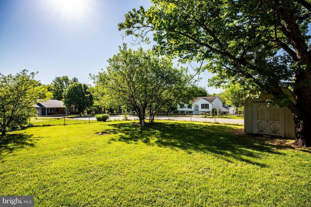 Huge fenced yard - 702 PAYTON DR, FREDERICKSBURG