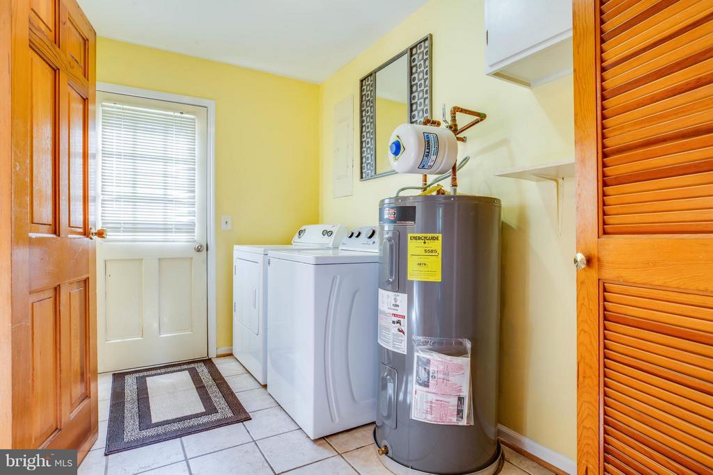 Laundry Room/Storage area off of kitchen - 702 PAYTON DR, FREDERICKSBURG