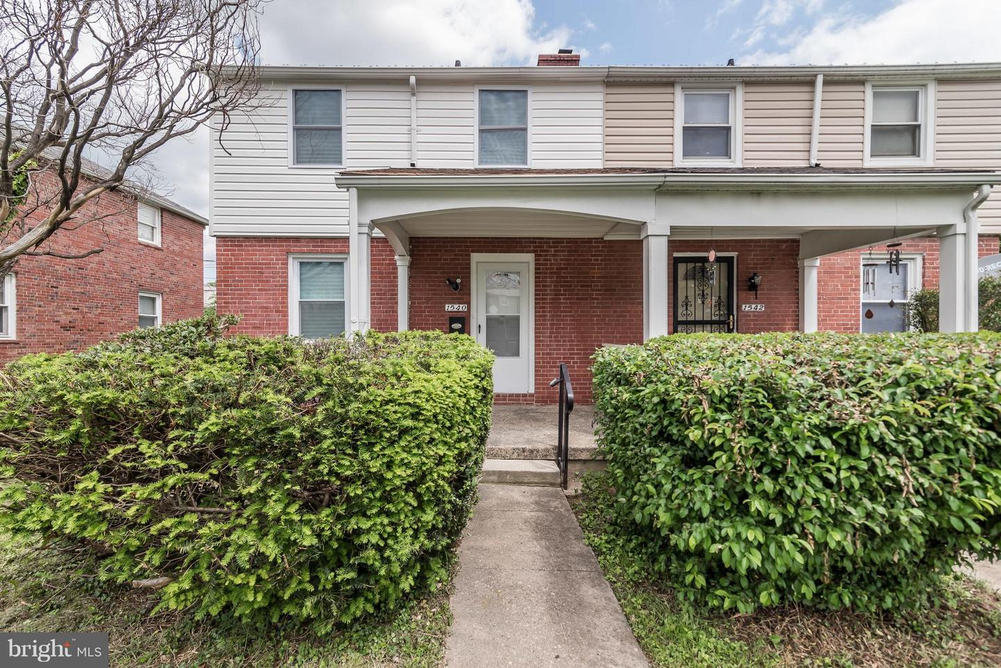 Single Family for Sale at 1540 Windemere Ave Baltimore, Maryland 21218 United States