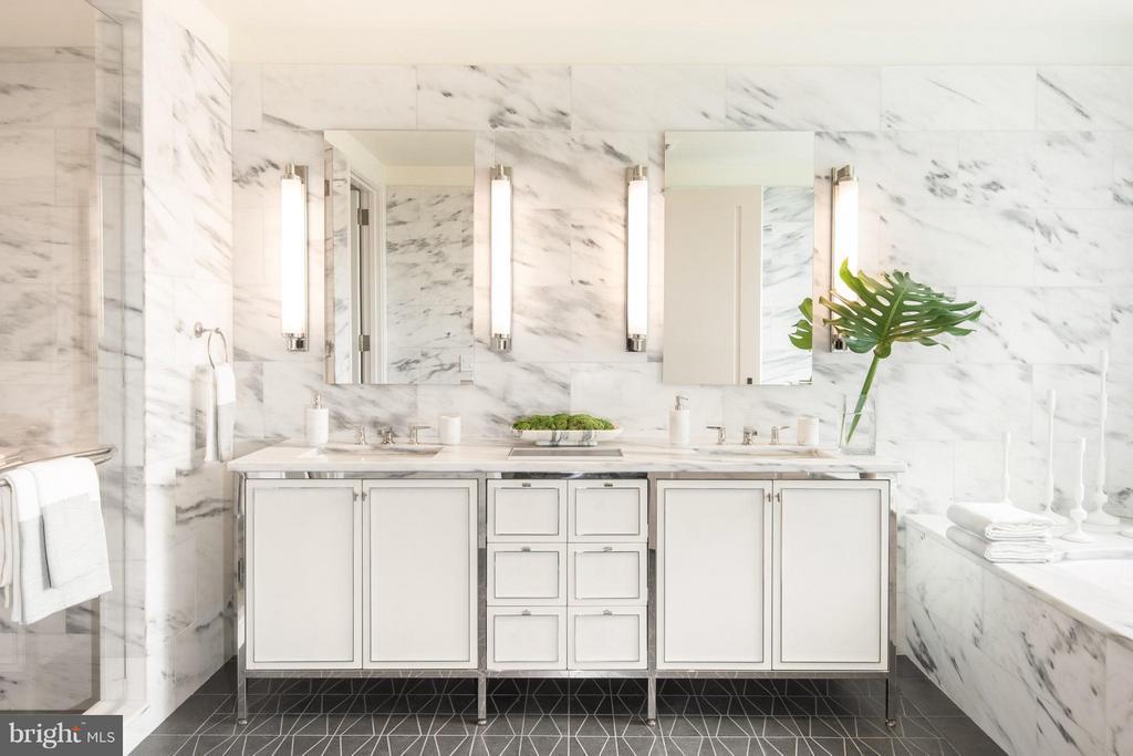 Bath (Master) - 2660 CONNECTICUT AVE NW #6C, WASHINGTON