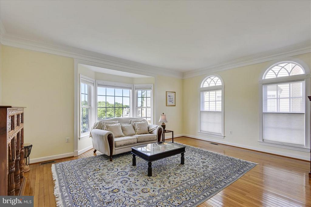 Nice view from the sitting room - 4026 BELGRAVE CIR, FREDERICK