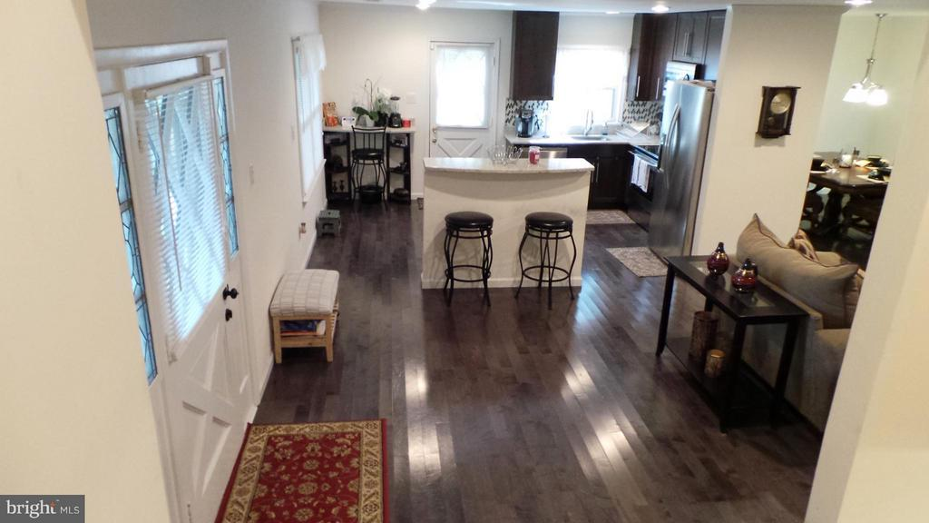 Hardwood floor on main level. - 102 MARINE CV, STAFFORD