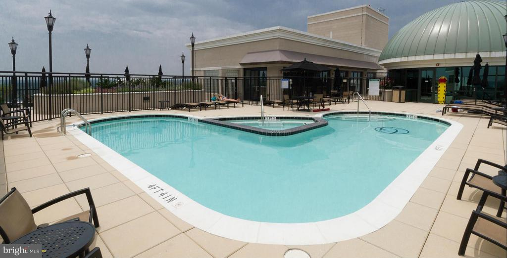 Roof Top Pool - 1915 TOWNE CENTRE BLVD #913, ANNAPOLIS
