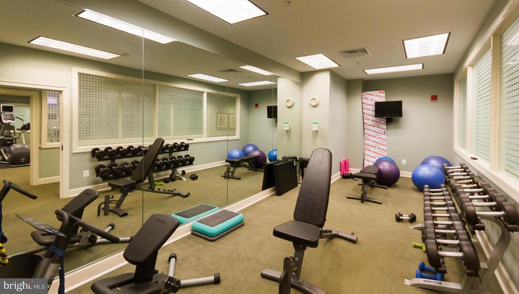 Fitness Center - Weights - 1915 TOWNE CENTRE BLVD #1202, ANNAPOLIS