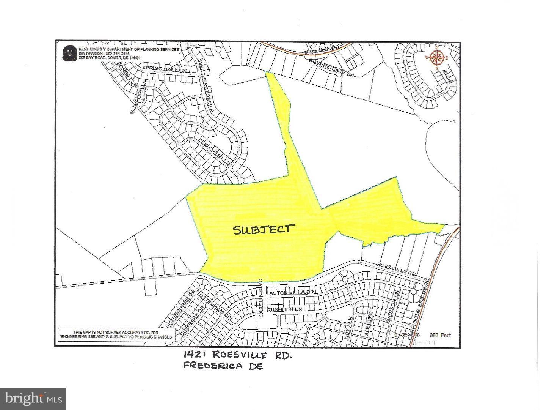 獨棟家庭住宅 為 出售 在 1421 ROESVILLE Road Frederica, 特拉華州 19946 美國