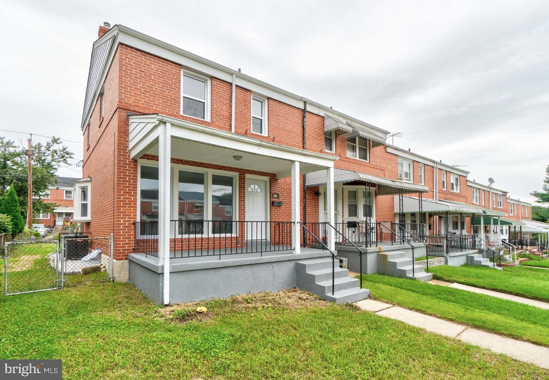 Single Family for Sale at 1228 Glenwood Ave Baltimore, Maryland 21239 United States