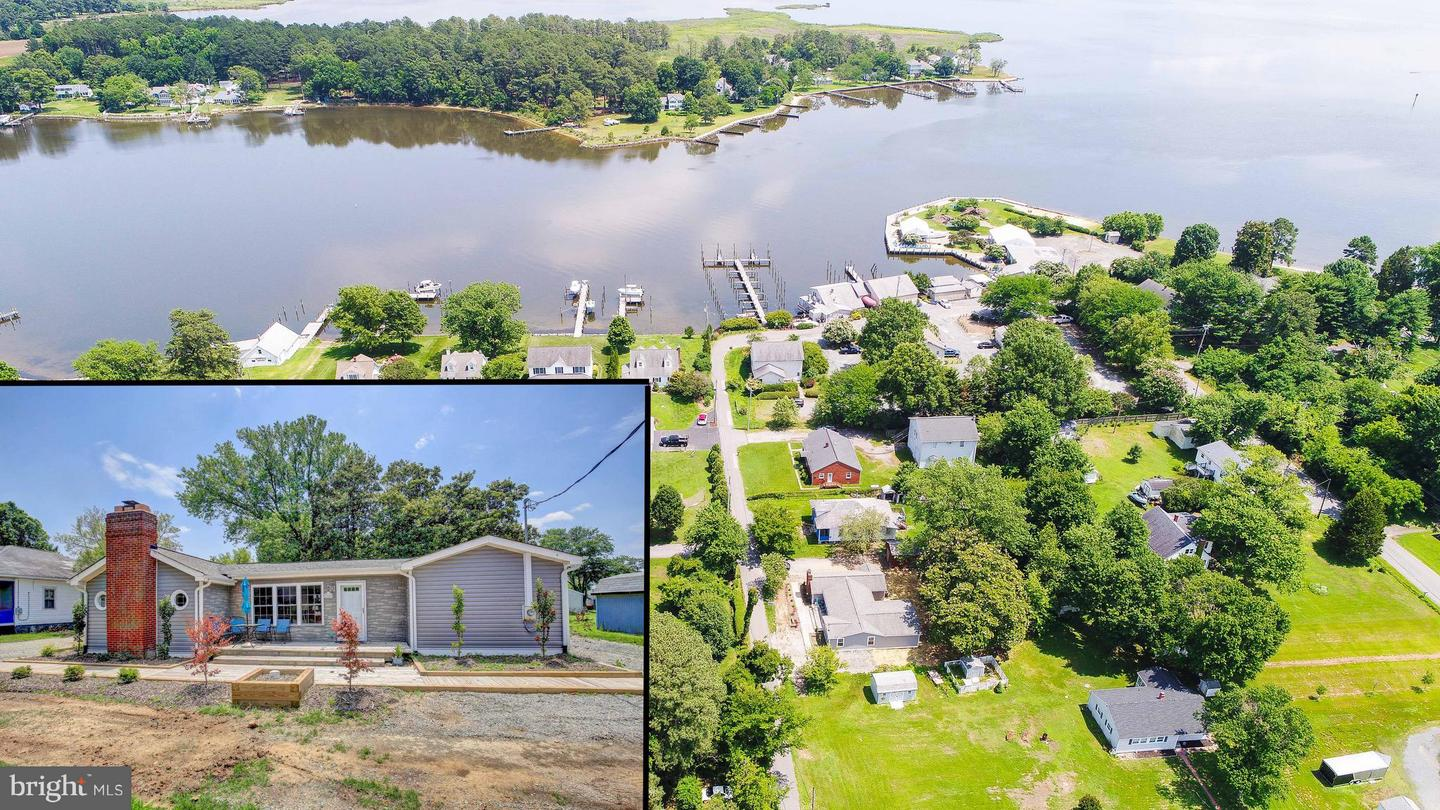 Photo of home for sale at 3909 Oyster House Road, Broomes Island MD