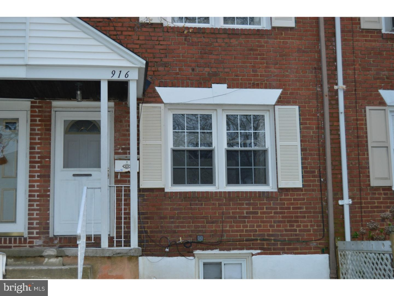 Tek Ailelik Ev için Satış at 916 DOVER Avenue Elsmere, Delaware 19805 Amerika Birleşik Devletleri