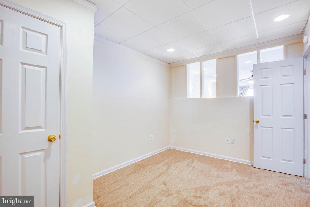 Bedroom #4 in lower level - 513 DUNMORE ST, FREDERICKSBURG