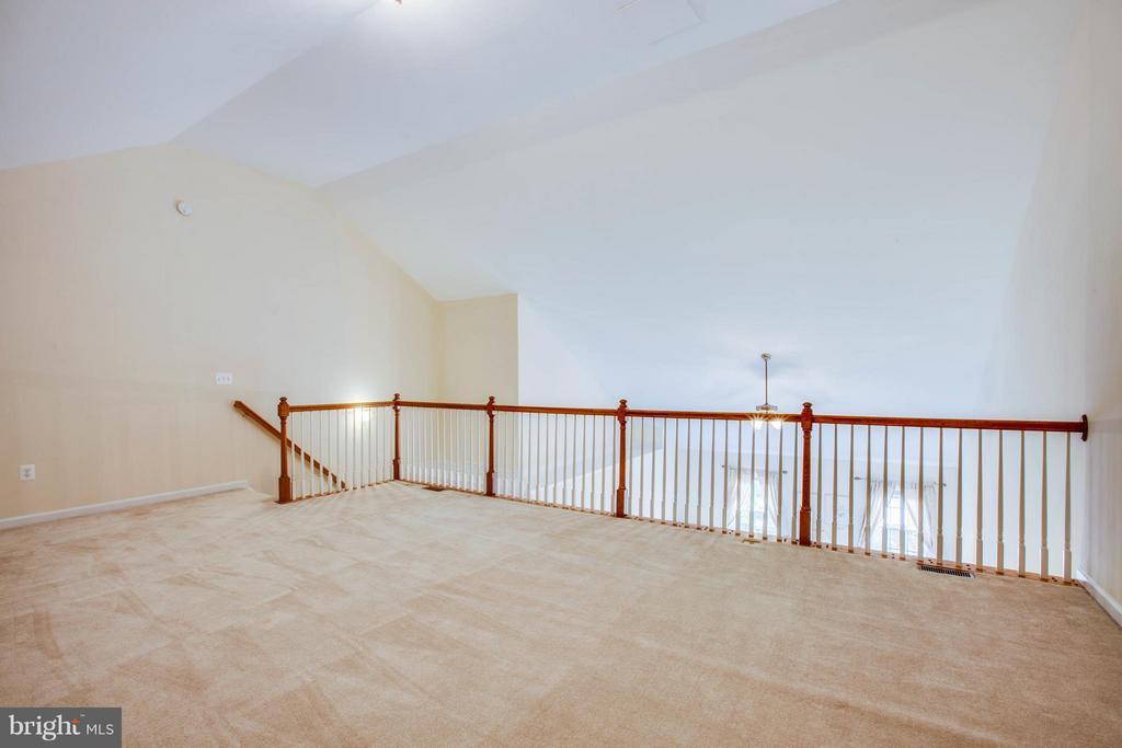 Huge loft/sitting area in Master Bedroom - 513 DUNMORE ST, FREDERICKSBURG