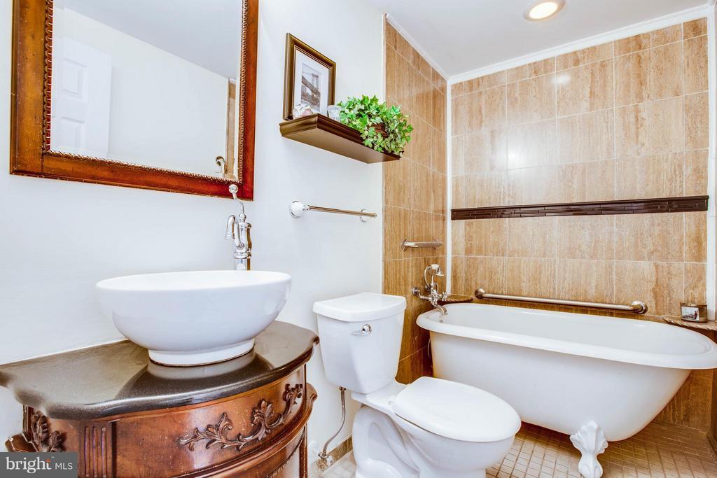 Lower level Full Bath - 513 DUNMORE ST, FREDERICKSBURG