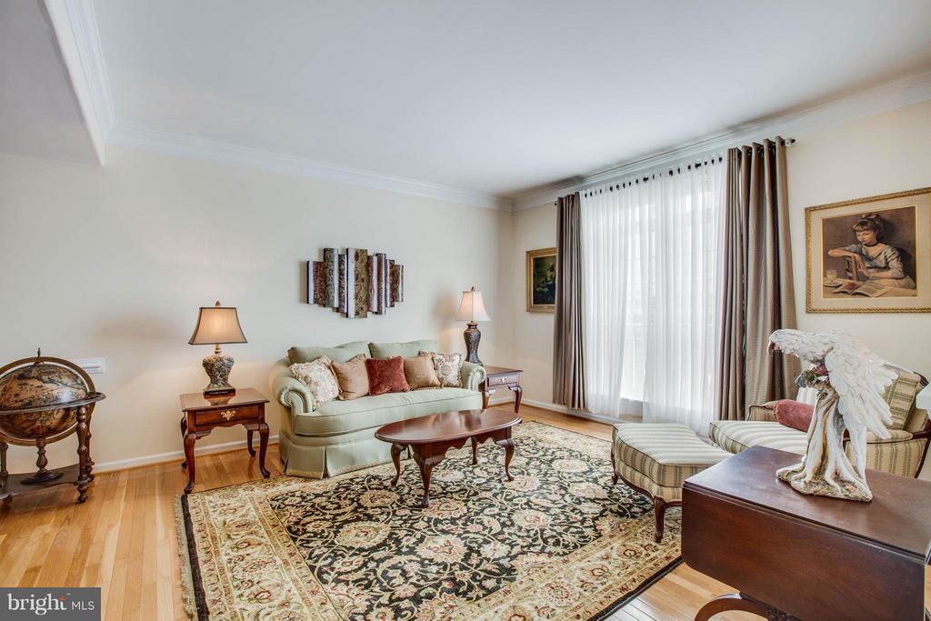 Living room - 513 DUNMORE ST, FREDERICKSBURG