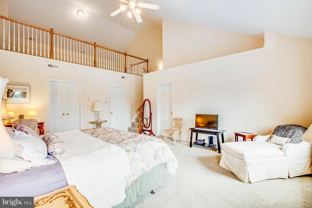 Master Bedroom with loft - 513 DUNMORE ST, FREDERICKSBURG