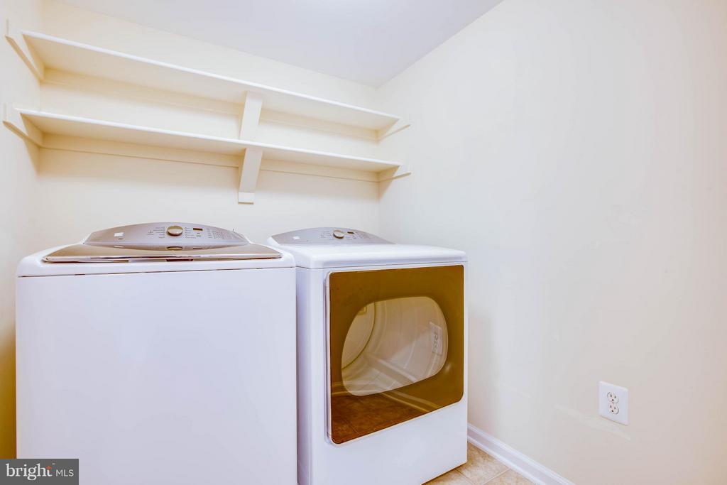Bedroom level Laundry Room - 513 DUNMORE ST, FREDERICKSBURG
