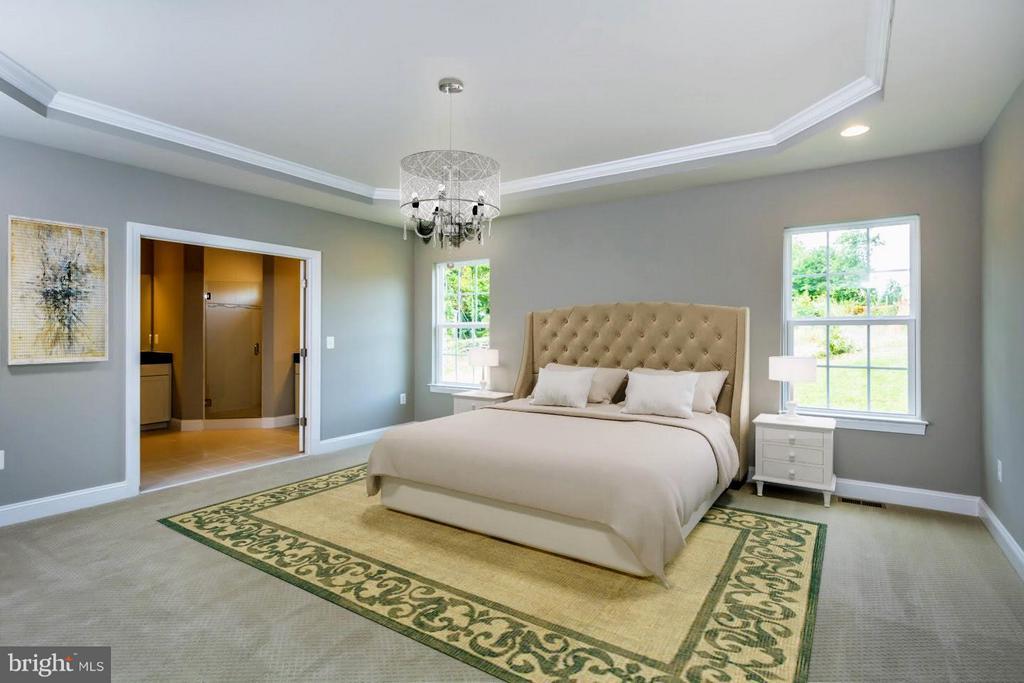 Bedroom (Master) - 0 STONEY RIDGE PL, TRIANGLE