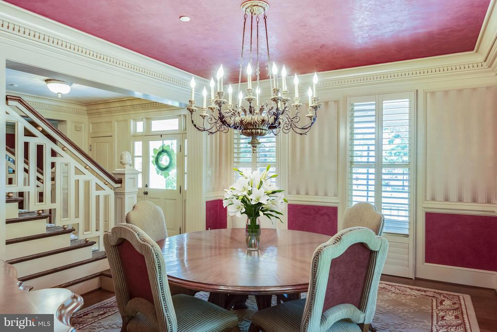 Gracious Dining Room, notice the chandelier. - 9 SOUTH ST, ANNAPOLIS