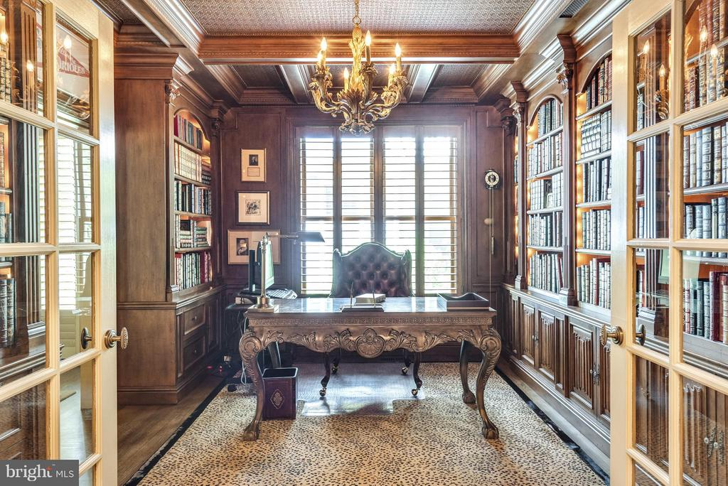 The ultimate Private Office w/built-ins - 9 SOUTH ST, ANNAPOLIS