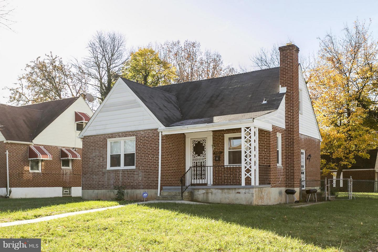 Single Family for Sale at 5511 Wesley Ave Baltimore, Maryland 21207 United States