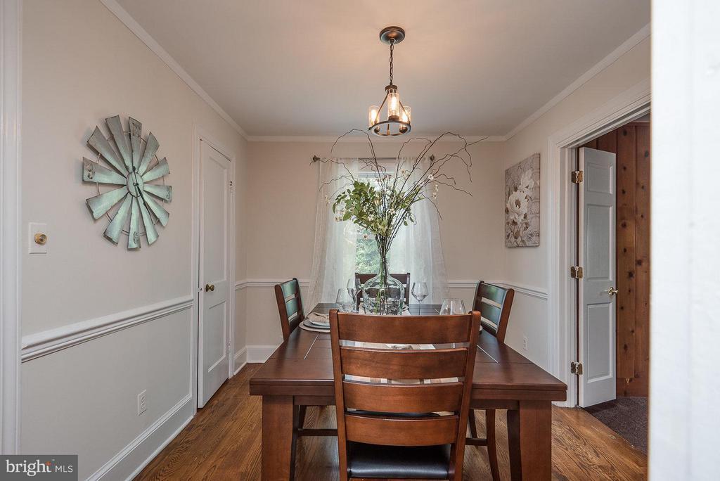 Dining Room - 2 FAIRFAX CIR, FREDERICKSBURG