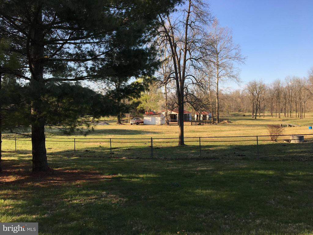Distant small Barn on almost 15 Acres - 1577 SHENANDOAH RIVER LANE, BOYCE