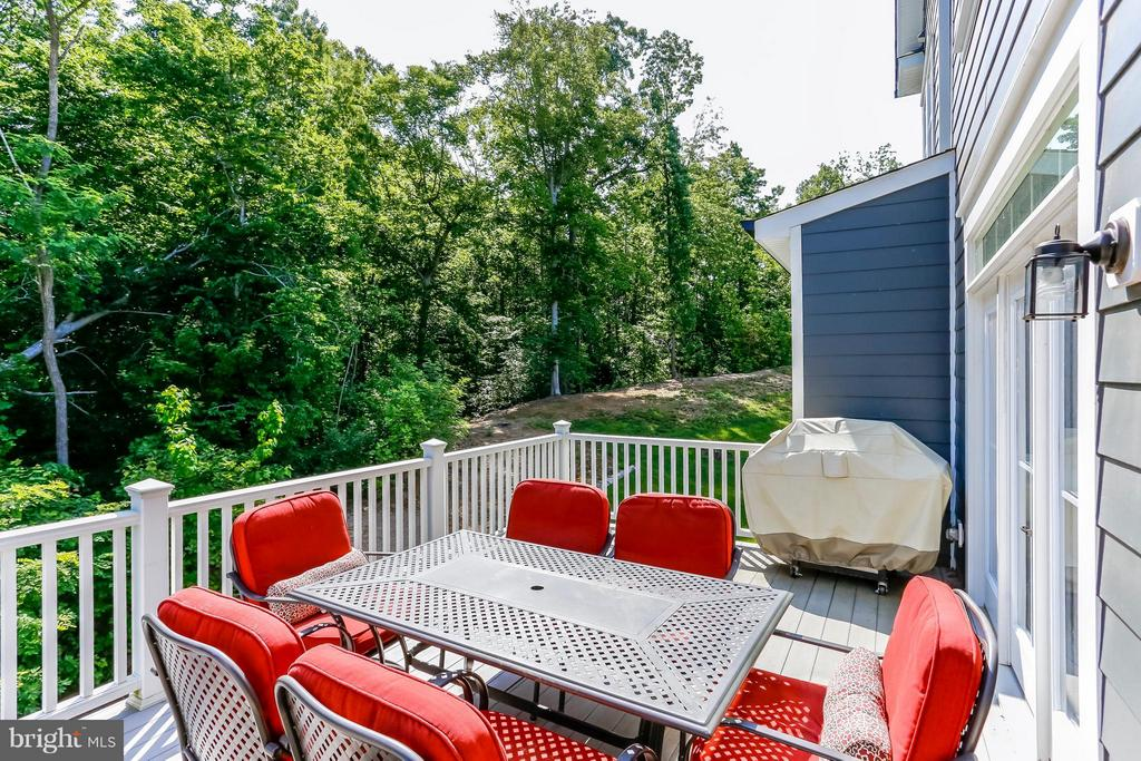 View of Nature from your back deck - 2305 HARMSWORTH DR, DUMFRIES