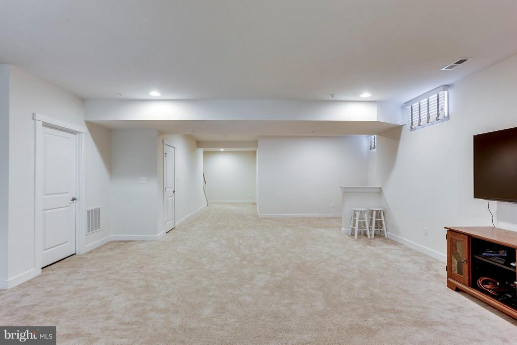 Basement with Bar rough in! - 2305 HARMSWORTH DR, DUMFRIES