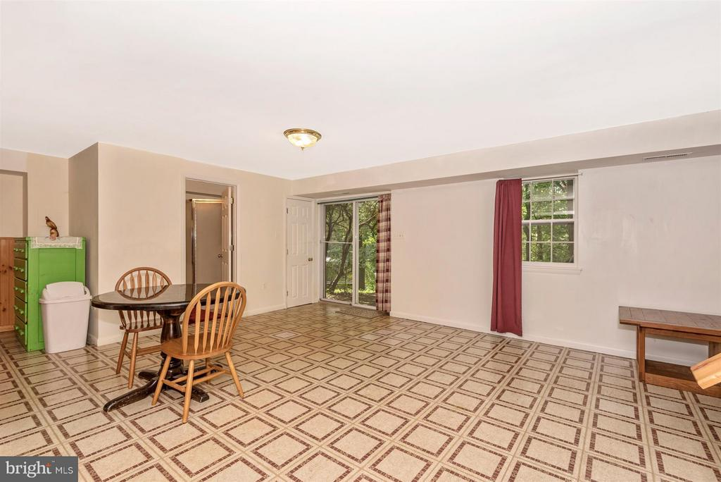 Rec Room with Walk-Out - 2 GOSHEN CT, GAITHERSBURG
