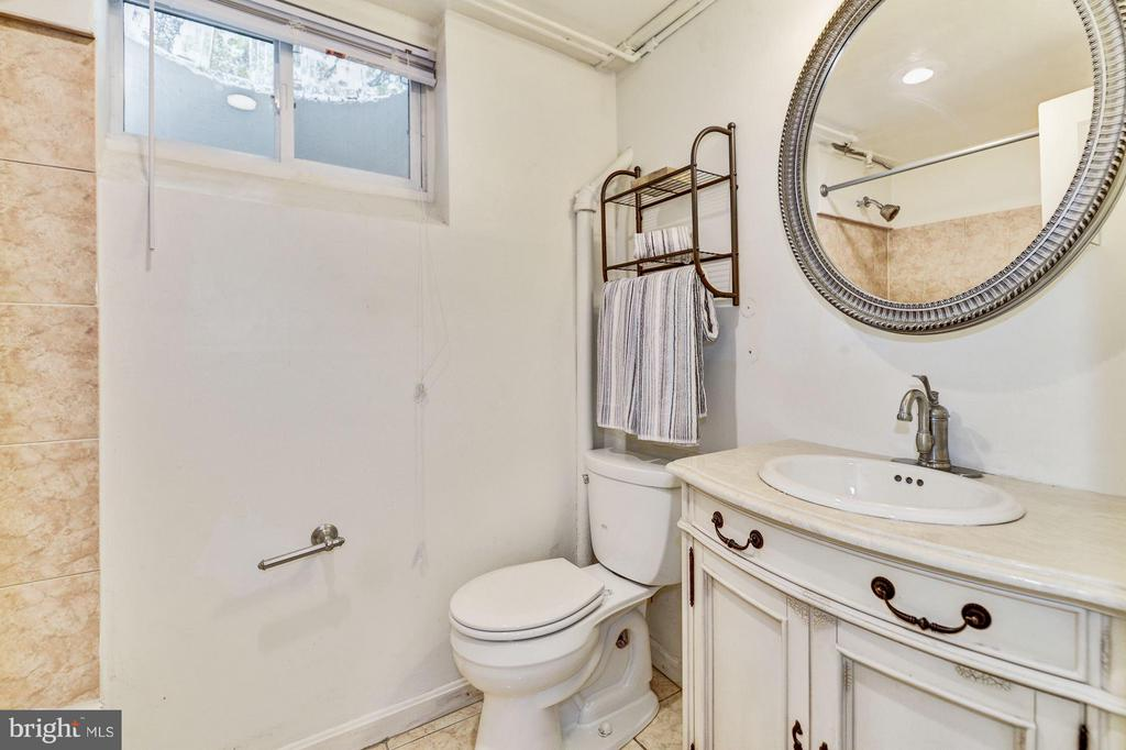 Lower Level Bath - 4300 RENO RD NW, WASHINGTON