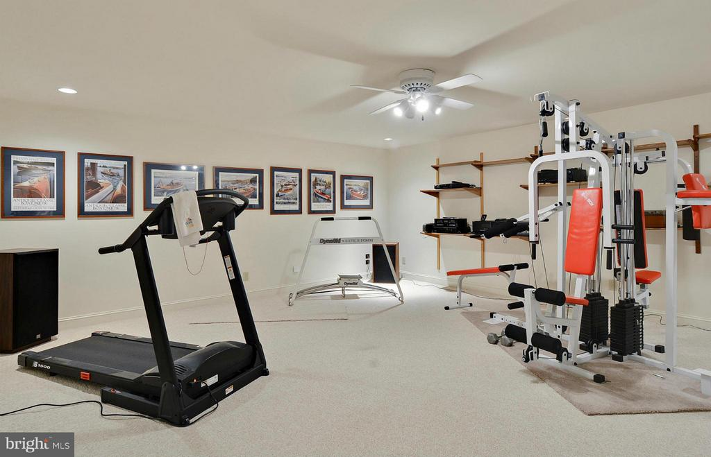 Lower Level: Fitness, Gaming - 6901 CLIFTON RD, CLIFTON