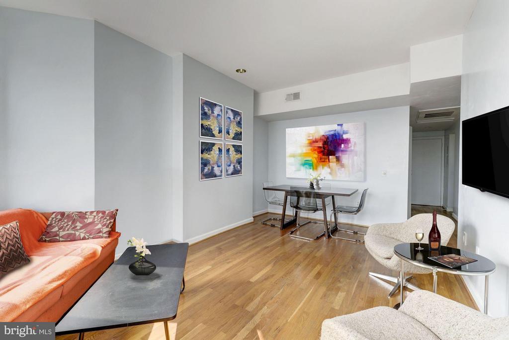 Living Area (3 of 3) - 1763 COLUMBIA RD NW #508, WASHINGTON