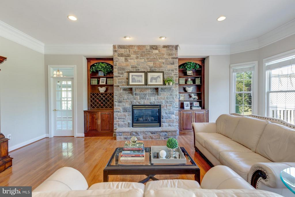 Upgraded Stone Fire Place - 41605 SWIFTWATER DR, LEESBURG