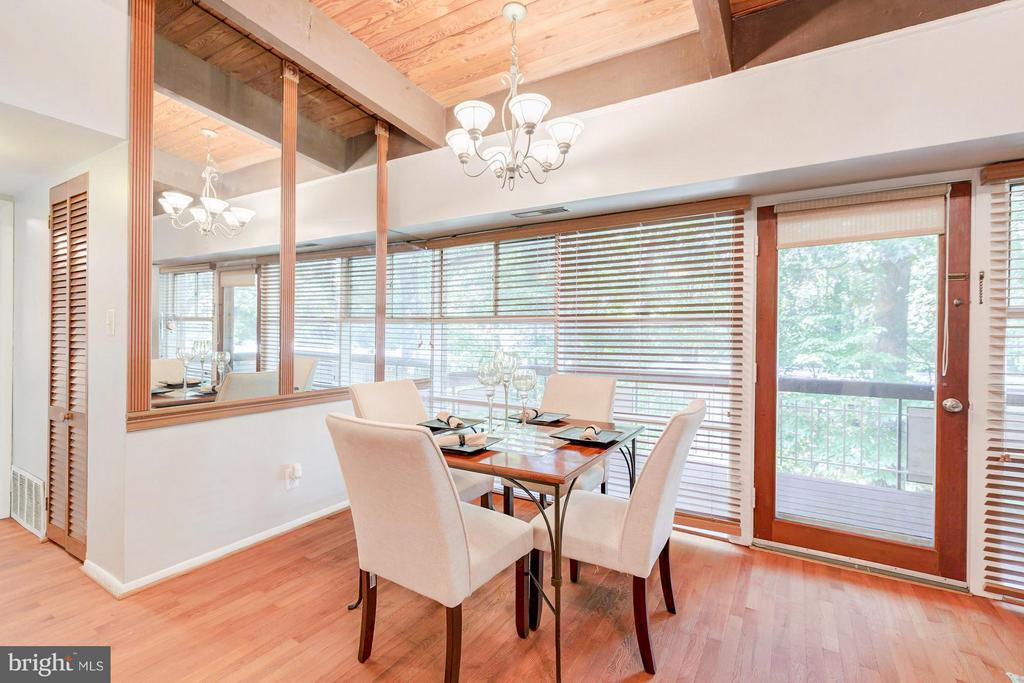 Dining room - 7747 DONNYBROOK CT #206, ANNANDALE