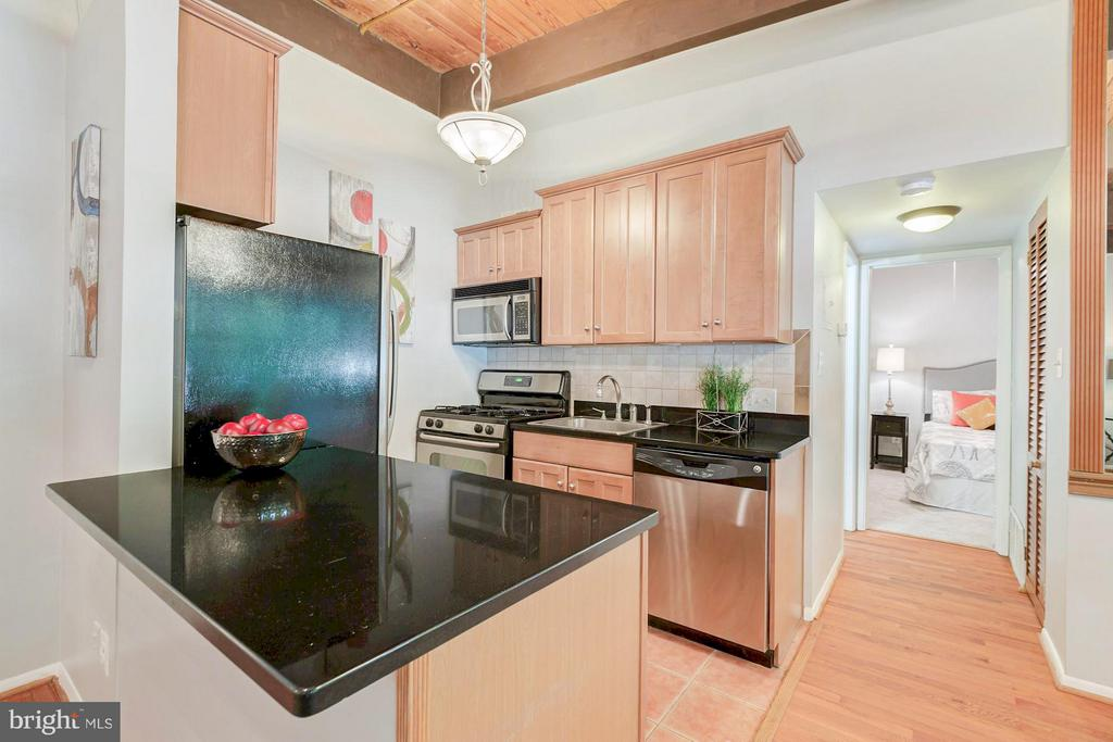 Granite countertops - 7747 DONNYBROOK CT #206, ANNANDALE