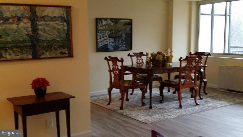 Spacious Dining Area - 3900 WATSON PL NW #A-5E, WASHINGTON