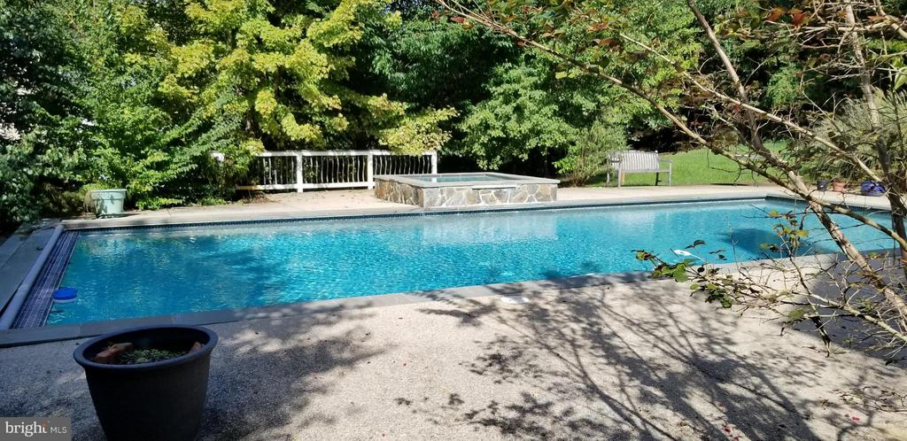 Large Heated Pool and Spa - 4200 PINERIDGE DR, ANNANDALE