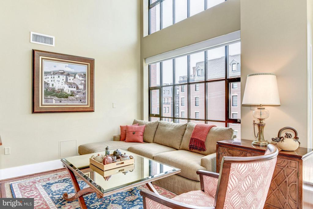 Living Room - 1600 CLARENDON BLVD #W305, ARLINGTON