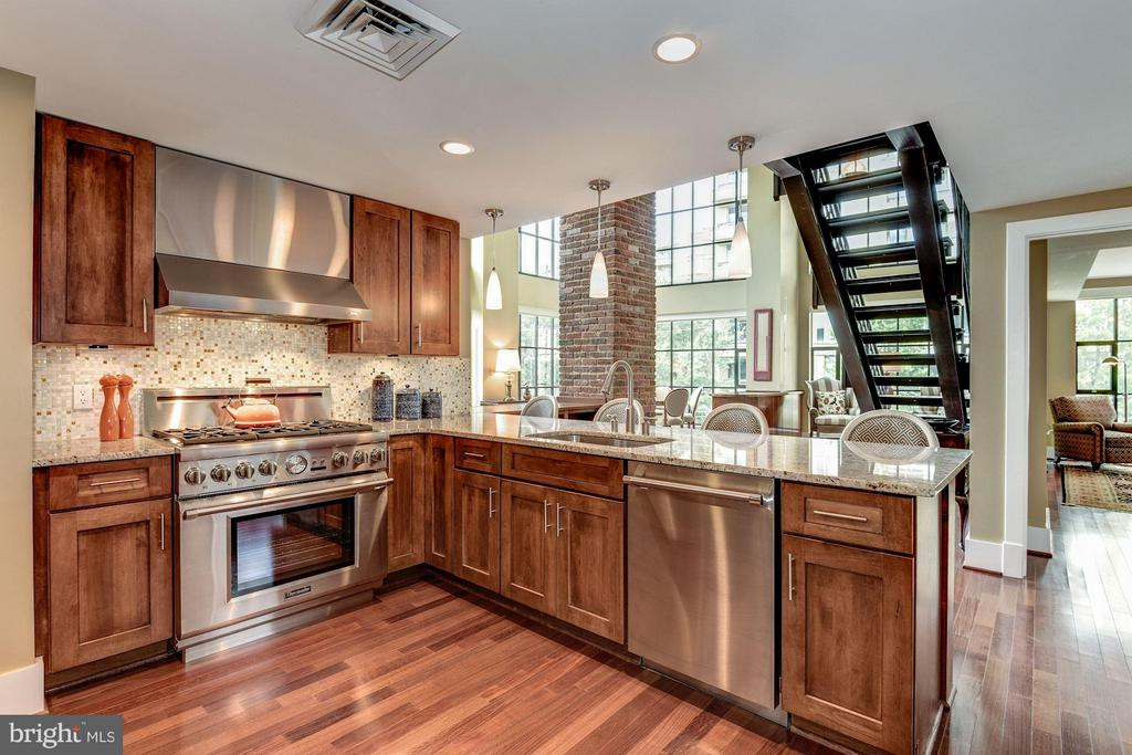 UPGRADED KITCHEN FULLY EQUIPPED WITH THE BEST! - 1600 CLARENDON BLVD #W305, ARLINGTON
