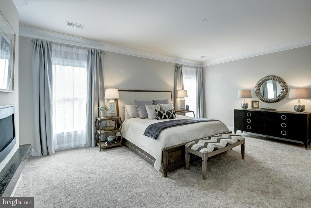 Model Home Bedroom (Master) - HARLEY RD, LORTON