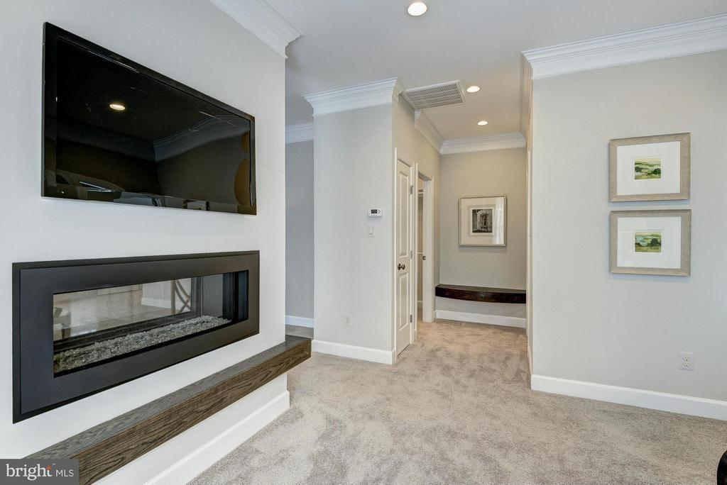 Model Home Owner's Suite Fire Place - HARLEY RD, LORTON