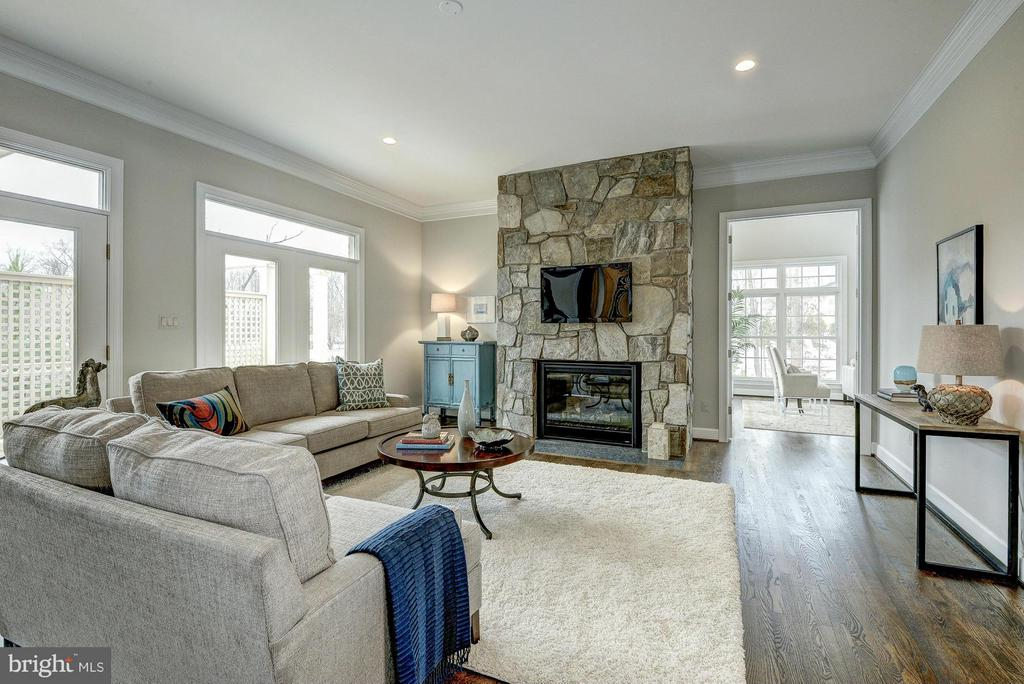 Model Home Family Room - HARLEY RD, LORTON