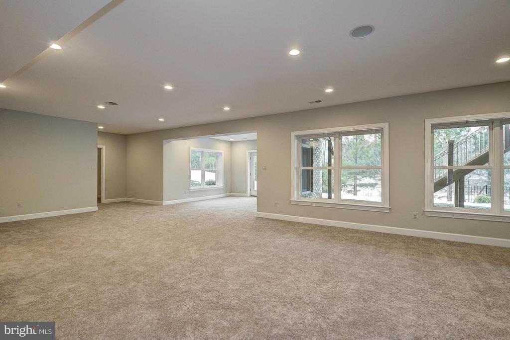 Model Home Recreation Room - HARLEY RD, LORTON
