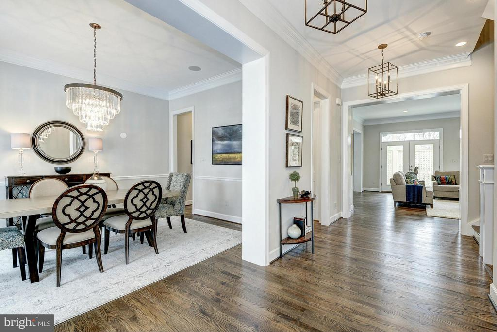 Model Home Dining Room - HARLEY RD, LORTON
