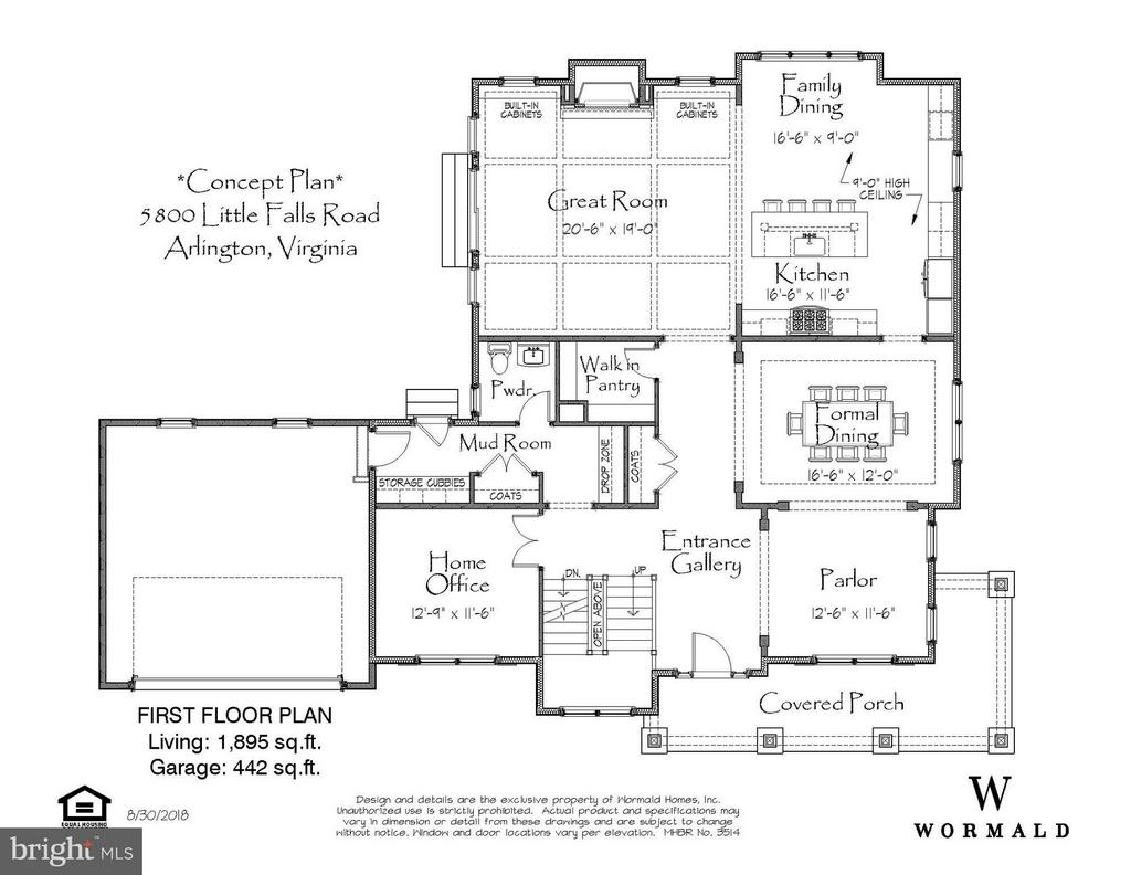 Floor Plan - 2950 LEXINGTON ST N, ARLINGTON