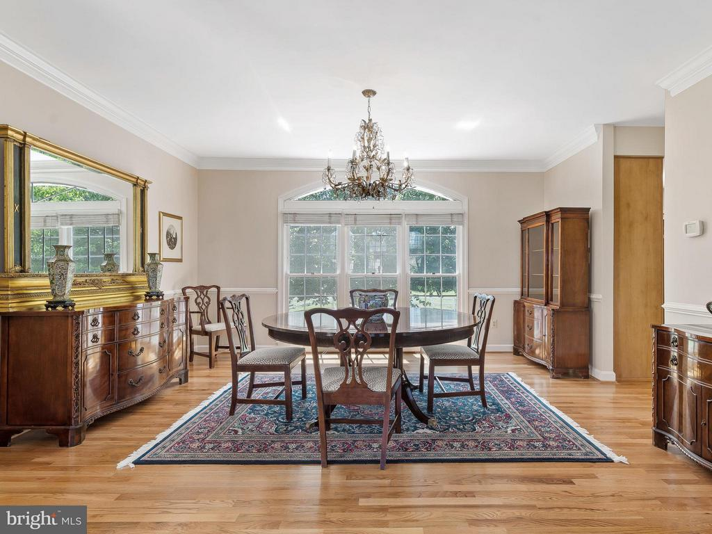 Dining Room - 11109 TOMMYE LN, RESTON